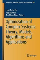 Optimization of Complex Systems