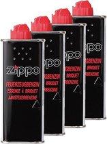 4 x Zippo Vloeistof - benzine aansteker