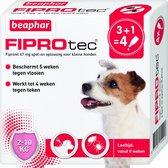 Beaphar Fiprodog Vlooien- en Tekenmiddel - Hond - 2 Tot 10 kg - 4 Pipetten