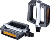 BBB BPD-45 SteadyRest Fiets Pedalen - Trekking - Anti-Slip oppervlak - Reflectors - Zwart