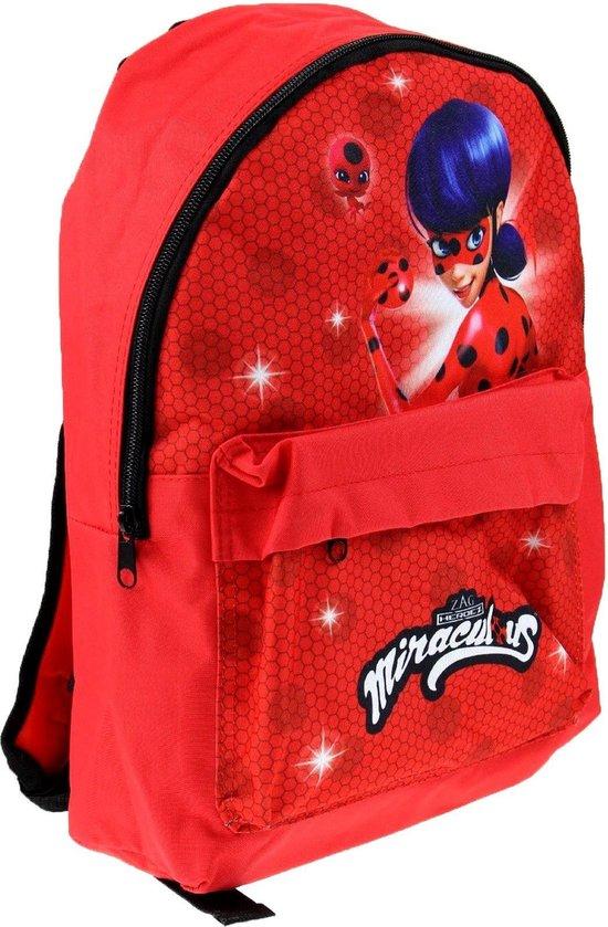 MIRACULOUS Ladybug Rugzak Rugtas School Tas 4-8 Jaar - Merkloos