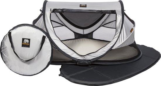 Deryan Peuter Luxe Campingbedje - Silver - 2021