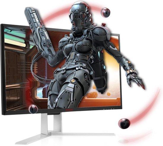 AOC AGON AG241QX - QHD TN Gaming Monitor - 24 inch (144hz)