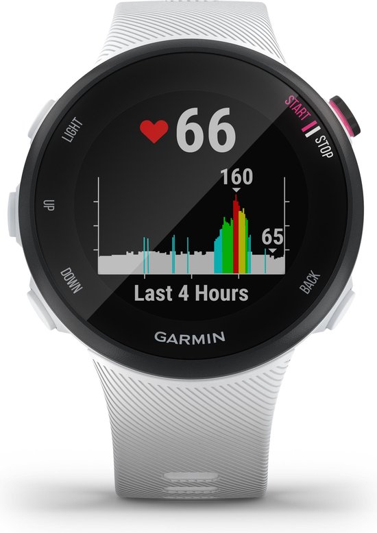 Garmin Forerunner 45S - GPS Sporthorloge - 39 mm - Zwart/Wit