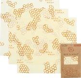 Bee's Wrap Bijenwas Doekjes 3 Pack - Large - Wit