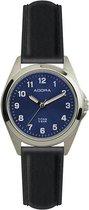 Titanium dames horloge van het merk Adora met blauwe wijzerplaat AB6371