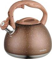 Fluitketel Inductie Gas Waterkoker 2.8 L '' Sahara '' Goud Bruin Graniet