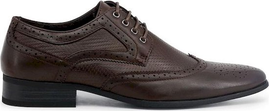 Duca di Morrone - Lace up - Heren - SCOTT - saddlebrown