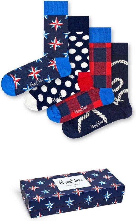 Happy Socks Nautical giftbox - Maat 41-46