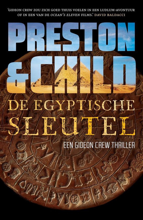 Gideon Crew - De Egyptische sleutel - Preston & Child  