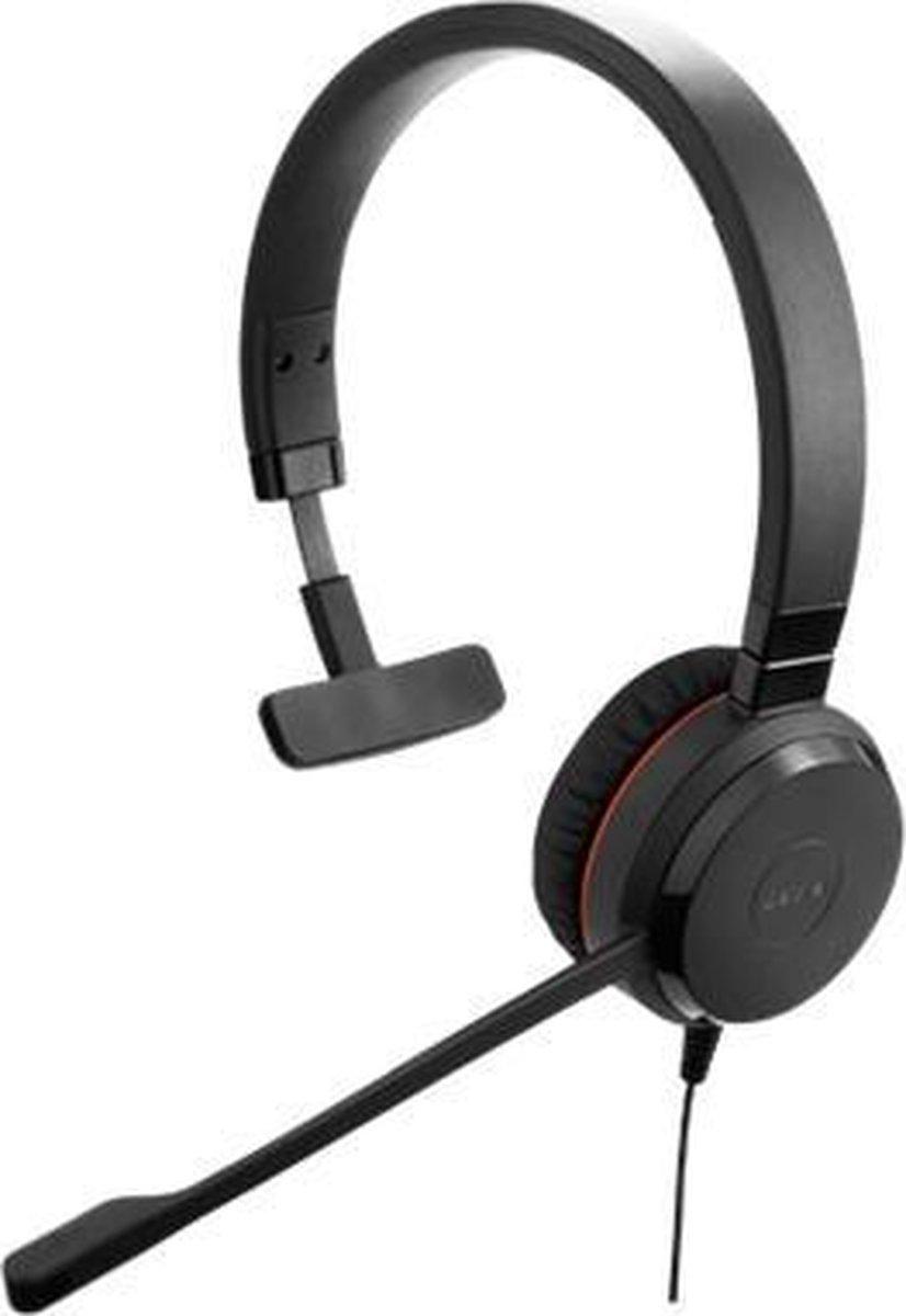 Jabra Evolve 30 II MS Mono Headset Hoofdband Zwart