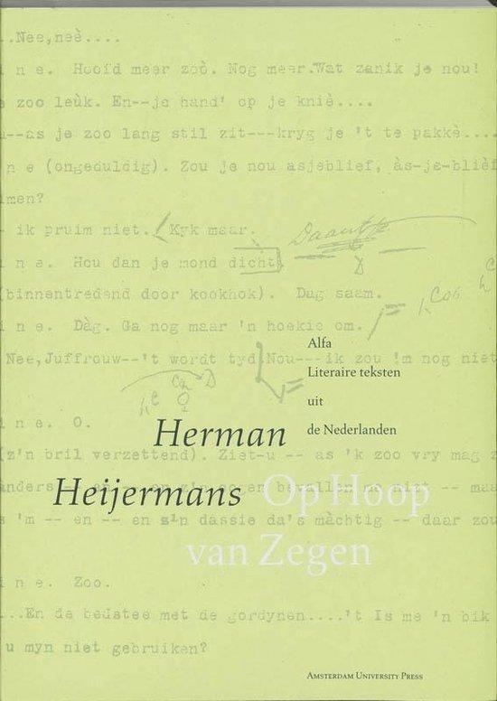 Cover van het boek 'Op hoop van zegen'