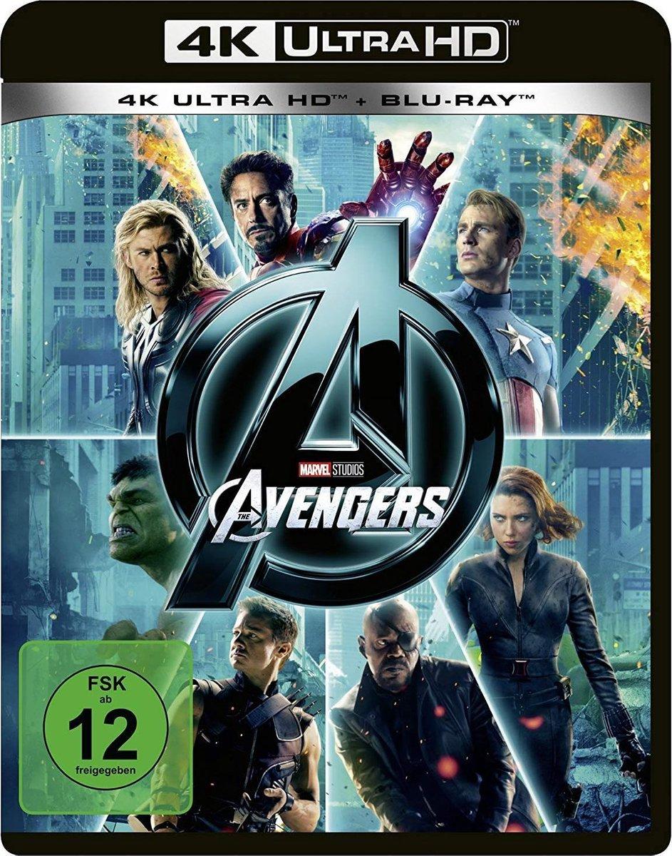 The Avengers (4K Ultra HD Blu-ray) (Import)-