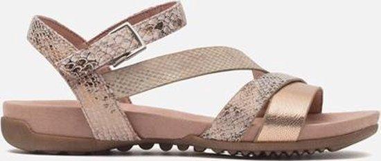 Tamaris 12860420 Geklede sandalen Dames Maat 36 Roze 596 Rose Comb