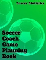 Soccer Coach Game Planning Book