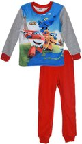 Super Wings rode feece pyjama maat 98