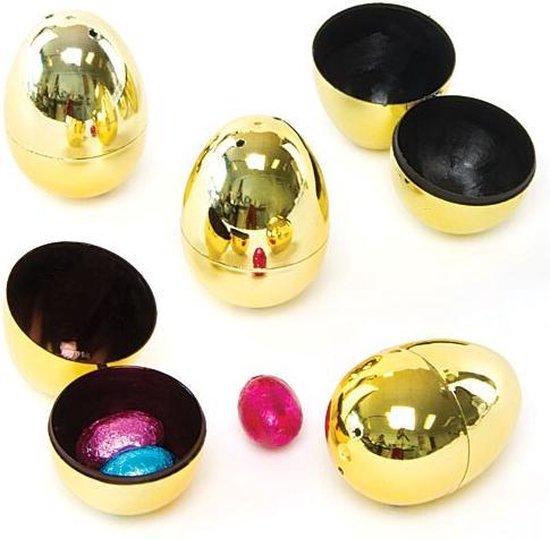 Tweedelige gouden eieren (10 stuks per verpakking)