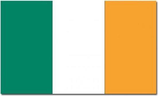 Vlag  van Ierland   90 x 150 cm