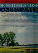 Boek cover Spectrum atlas van de nederlandse landschappen van M.F. Morzer Bruyns