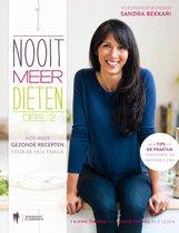Boek cover Nooit meer diëten Deel 2 van Sandra Bekkari (Hardcover)