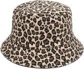 Bucket hat - panterprint - Zonnehoedje - Vissers Hoed - Vrouwen - Hiking