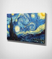 The Starry Night - Painting Canvas | 80x120 cm