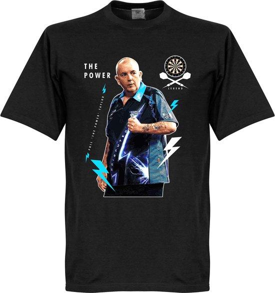 Phil The Power Taylor Darts T-Shirt - XL
