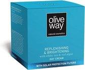 Oliveway anti-spot dagcrème met UV-bescherming en biologische olijfolie - 50ml