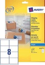 Avery White Address Label - Inkjet - J8165