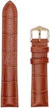 Hirsh Horlogeband Duke Honing - Leer - 16mm