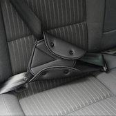 Auto gordel beschermer - Gordelhoes - Autogordel bescherming - Gordelbeschermer - Nekbeschermer kind - Gordelbeschermhoes - Nekkussen / neksteun - Zwart