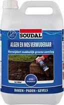 Soudal Algen en mos verwijderaar kleurloos 5l