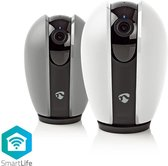 Nedis Wi-Fi Smart IP-Camera | Draaien / Kantelen | HD 720p