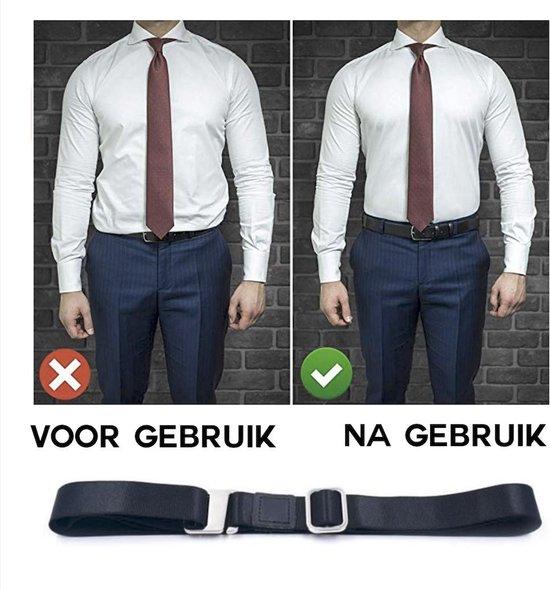 Accessoires   Overhemd Riem met Mouwophouders 2x  SETJE  Shirt Stays Belt  Bretels ...