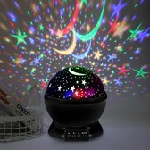 Sterrenprojector - Sterrenhemel - Nachtlampje kinderen - Babyprojector - Zwart - Sfeer - Feest