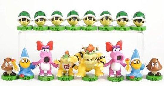 Thumbnail van een extra afbeelding van het spel Super Mario Schaakspel - Collector's Edition - Luigi - Schaken - Cadeau set Mario - Chess Game Mario