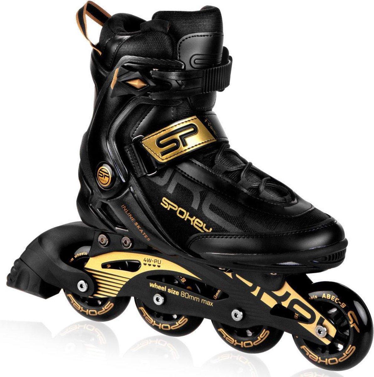 Spokey Prime Pro black unisex skate maat 39. Advies bestel 1 maat groter als normale schoenmaat