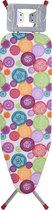 Made4Home® Strijkplank - Met Strijkijzerhouder - Breed Strijkvlak - Verstelbare Hoogte - 120x38cm
