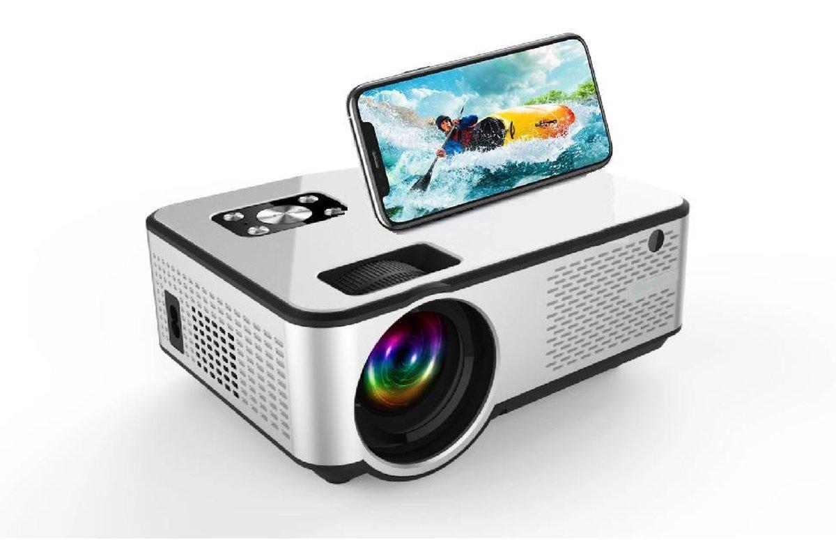 Mini Beamer C9 - Upgrade LED Projector - Full HD 1080P/2800 Lumen - Streamen vanaf telefoon - Mini P