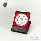Miniatuur Kampioensschaal - Eredivisie 2020-2021 - Originele miniatuur - Officieel KNVB product - Schaal Ajax - Cadeau Ajax - Ajax artikelen - Kampioen van Nederland - Ajax voetbal - Ajax Kampioen