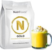 Nutrifoodz Gold® - Golden Milk-thee - 100% Vegan - 60 porties