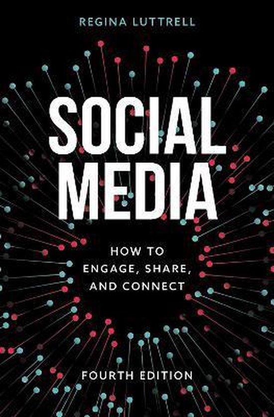 Boek cover Social Media van Regina Luttrell (Hardcover)