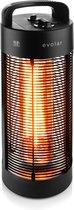 Evolar EVO-HD55 elektrische terrasverwarmer 600/1200W zwenkbaar 360º