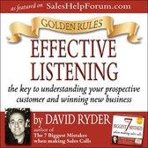 Boek cover Golden Rules - Effective Listening van David Ryder