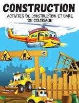 Activites de Construction et Livre de Coloriage