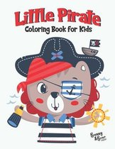 Little Pirate Coloring Book for Kids