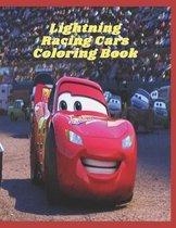 Lightning Racing Cars Coloring Book