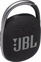 JBL Clip 4 Zwart - Draagbare Bluetooth Mini Speaker
