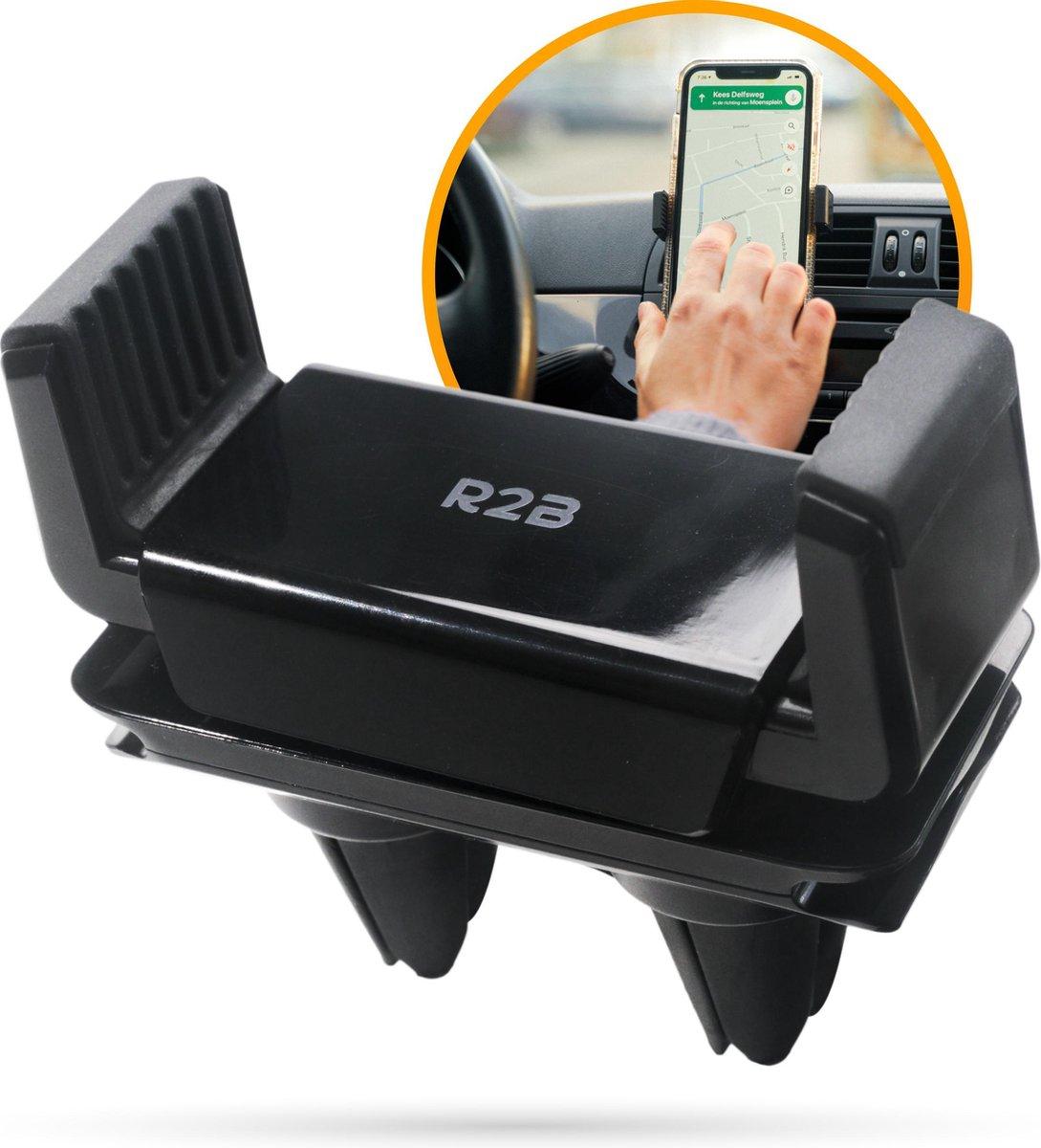 R2B Telefoonhouders auto geschikt voor ventilatierooster - Universeel - Gsm houder auto - Telefoonho