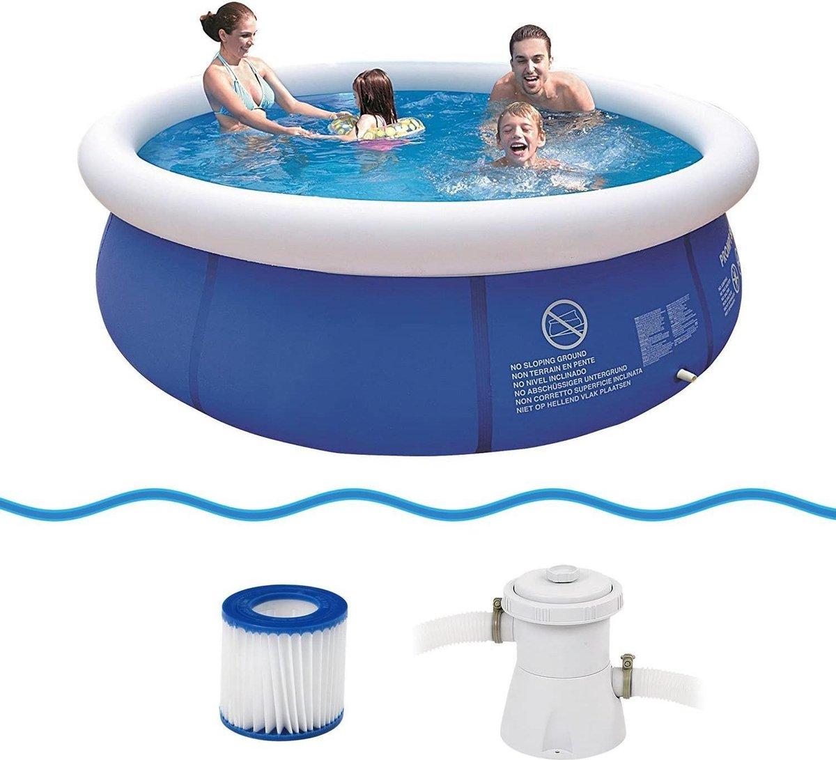 Fastset zwembad 300x76cm | Avenli